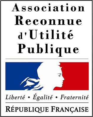 Logo association reconnue d'utilité publique