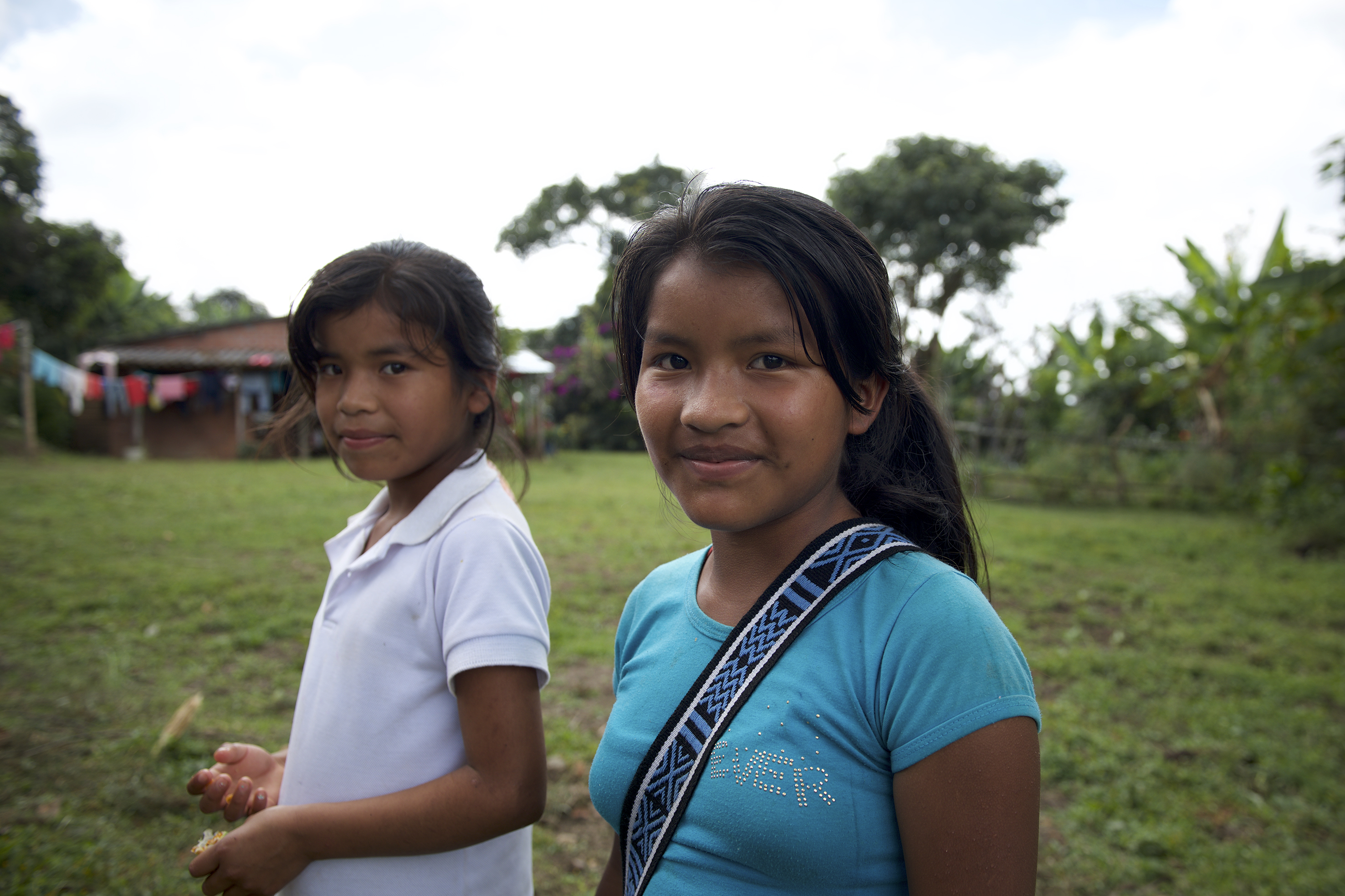 Jeunes colombiennes