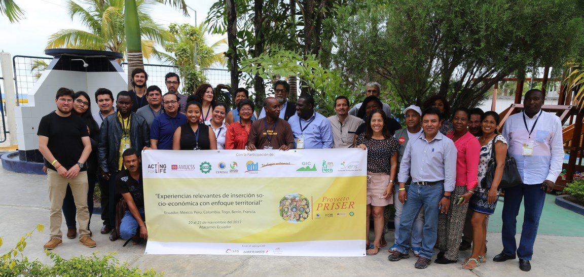 Atelier insertion socio-économique rurale par l'entrepreneuriat en Amérique latine