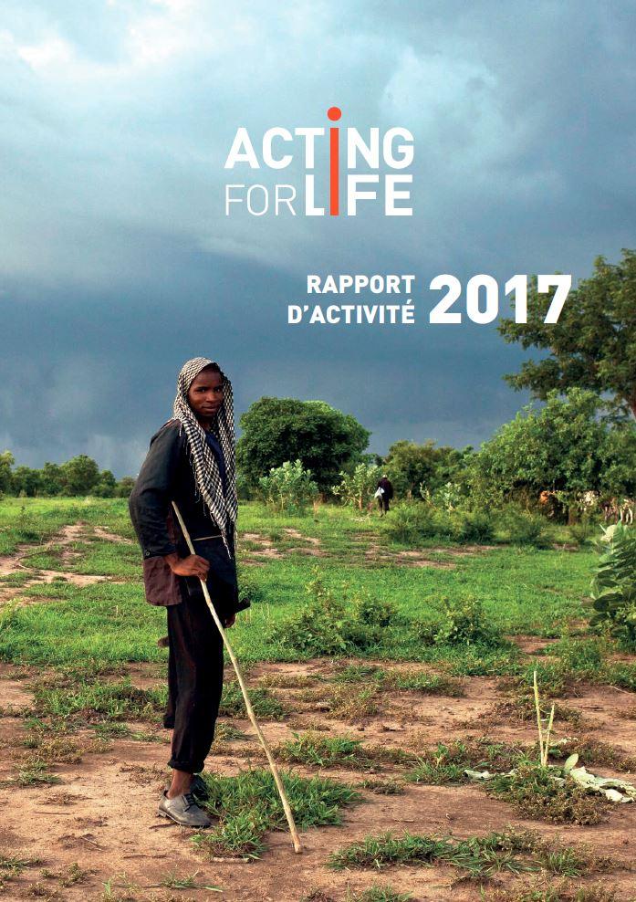 Couverture Rapport d'activité 2017
