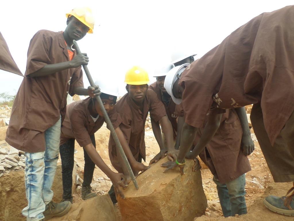 Formation pierre Mali