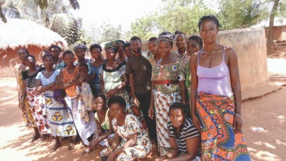 Bénéficiaires projet PROMECO Togo